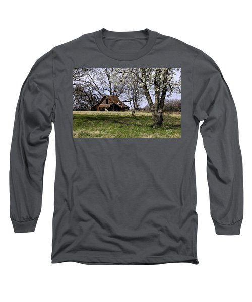 Long Sleeve T-Shirt featuring the photograph Spring At The Farm In Tyler Tx by Betty Denise