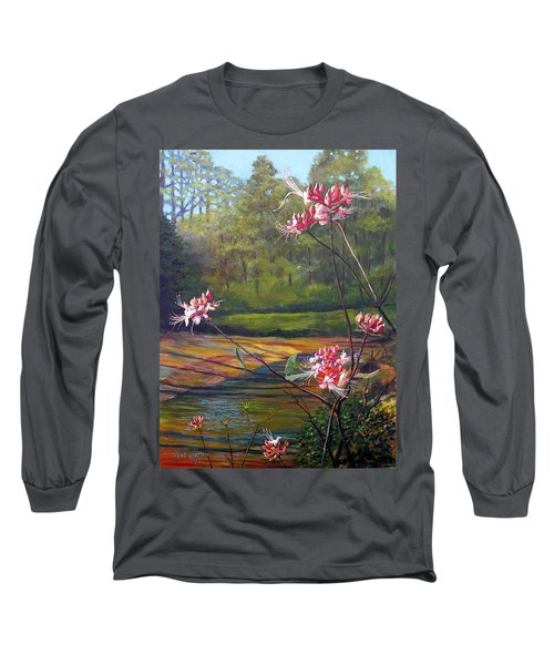 Spring Blooms On The Natchez Trace Long Sleeve T-Shirt by Jeanette Jarmon