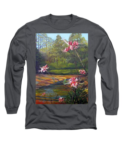 Spring Blooms On The Natchez Trace Long Sleeve T-Shirt