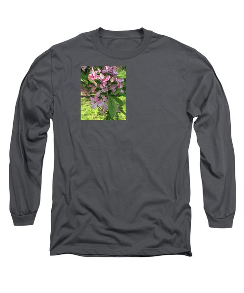 Spring Blossoms - Flower Photography Long Sleeve T-Shirt by Miriam Danar