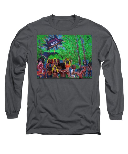Long Sleeve T-Shirt featuring the painting Spring Break 2013 by Lisa Piper
