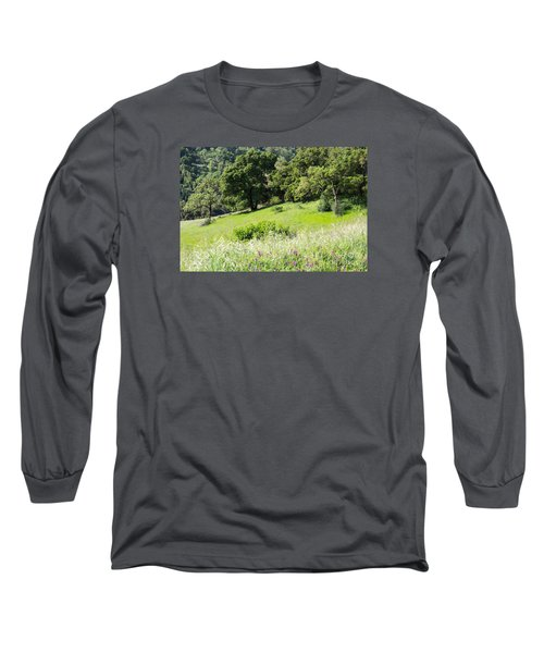 Spring Hike Long Sleeve T-Shirt by Suzanne Luft