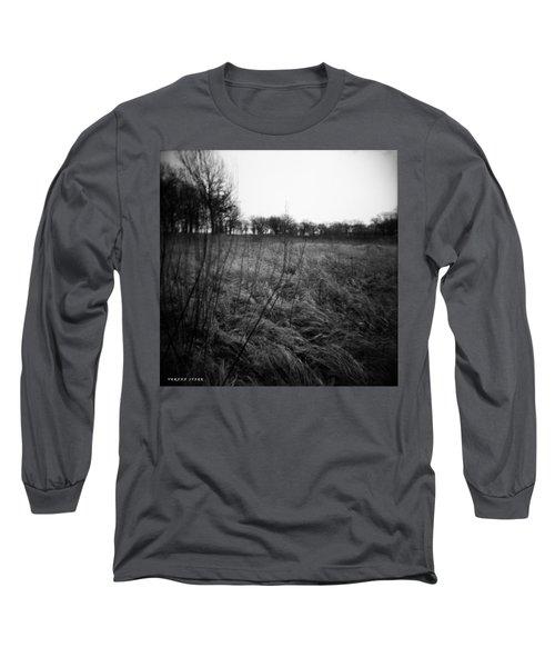 Spring Is Near Holga Photography Long Sleeve T-Shirt by Verana Stark