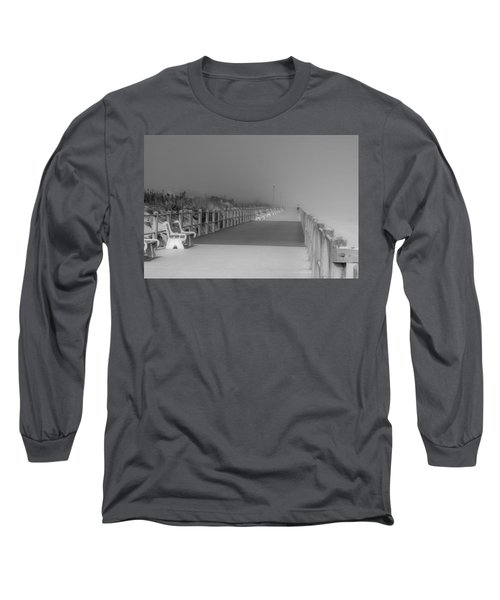Spring Lake Boardwalk - Jersey Shore Long Sleeve T-Shirt