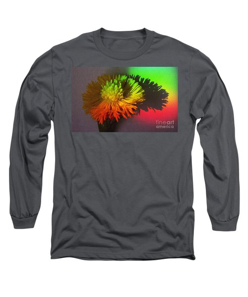 Spring Through A Rainbow Long Sleeve T-Shirt by Martin Howard
