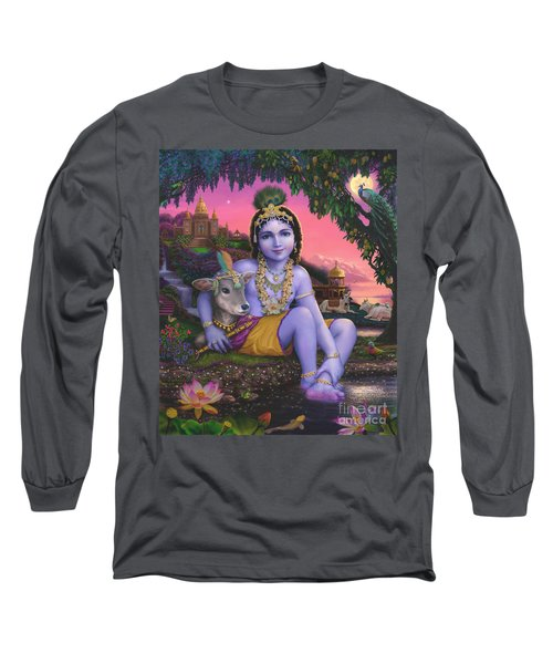 Sri Krishnachandra Long Sleeve T-Shirt