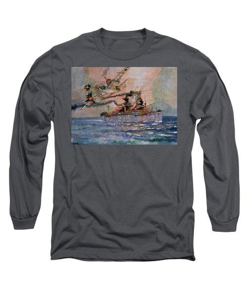 Ss Waimarama Long Sleeve T-Shirt by Ray Agius