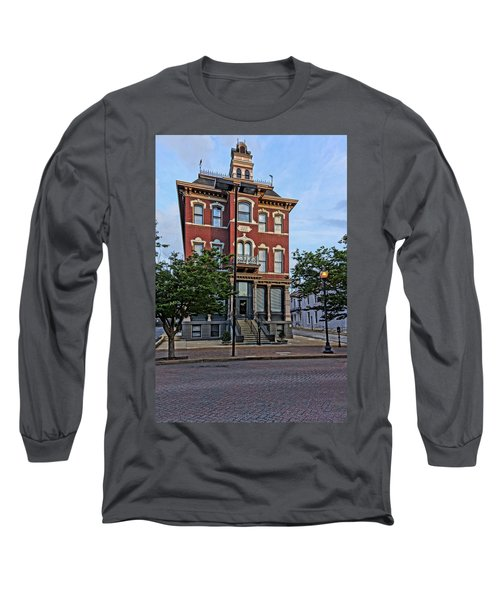 St. Charles Odd Fellows Hall Built In 1878 Dsc00810  Long Sleeve T-Shirt