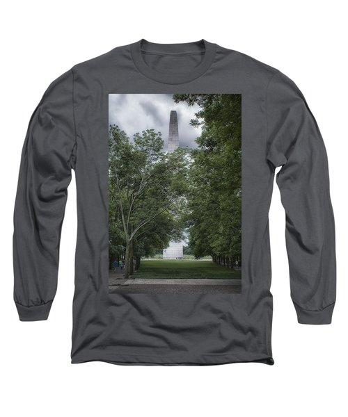 St Louis Arch Long Sleeve T-Shirt by Lynn Geoffroy