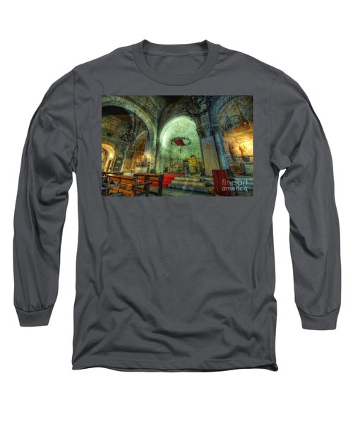 St Pere De Puelles Church - Barcelona Long Sleeve T-Shirt