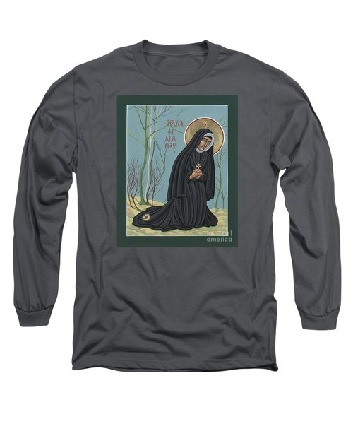 St. Philippine Duchesne 259 Long Sleeve T-Shirt by William Hart McNichols