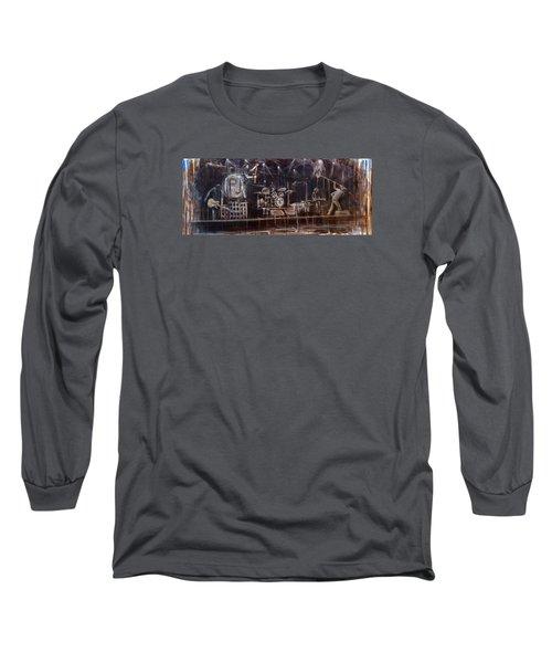Stage Long Sleeve T-Shirt by Josh Hertzenberg