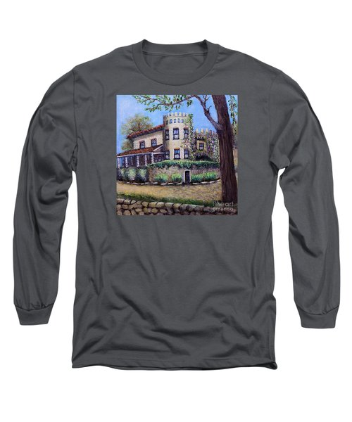 Stags' Leap Manor House Long Sleeve T-Shirt by Rita Brown