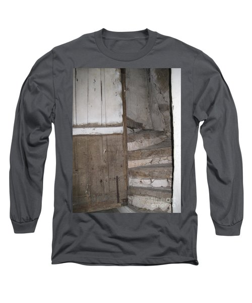 Long Sleeve T-Shirt featuring the photograph Staircase by HEVi FineArt