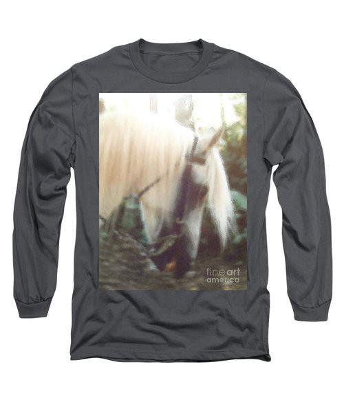 Stallion Long Sleeve T-Shirt by Patricia Keller