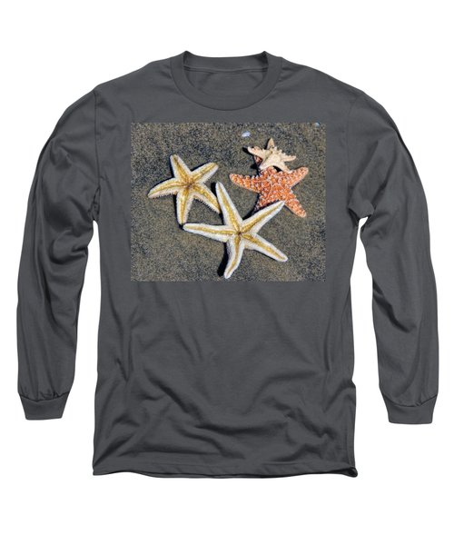 Starfish Long Sleeve T-Shirt by Tammy Espino