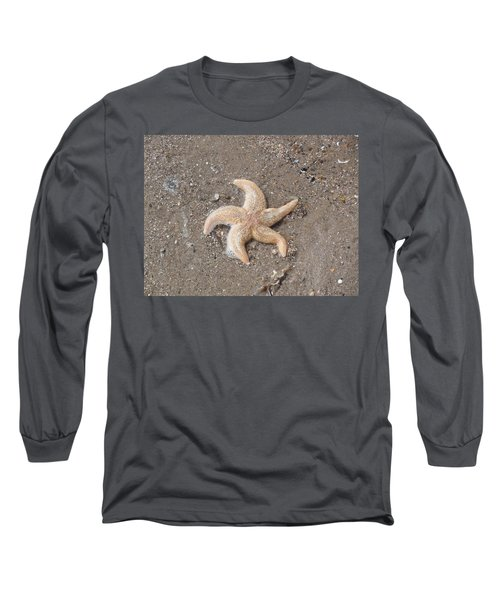 Long Sleeve T-Shirt featuring the photograph Starfish by Tiffany Erdman