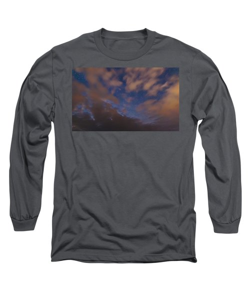 Long Sleeve T-Shirt featuring the photograph Starlight Skyscape by Marty Saccone