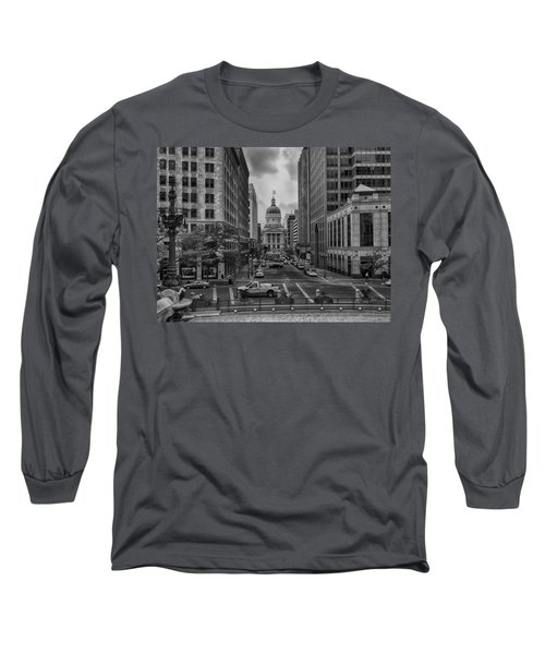 Long Sleeve T-Shirt featuring the photograph State Capitol Building by Howard Salmon