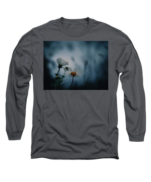 Stay With Me A While Long Sleeve T-Shirt by Rachel Mirror