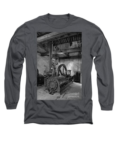 Steam Engine At Locke's Distillery Long Sleeve T-Shirt