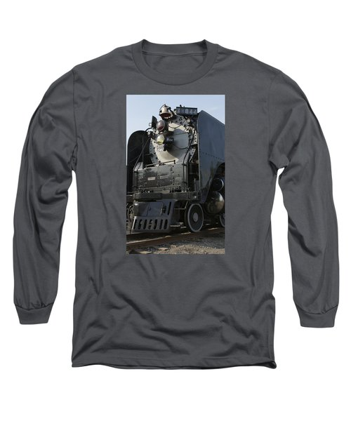 Steam Engine U P 844 Long Sleeve T-Shirt by Jane Eleanor Nicholas