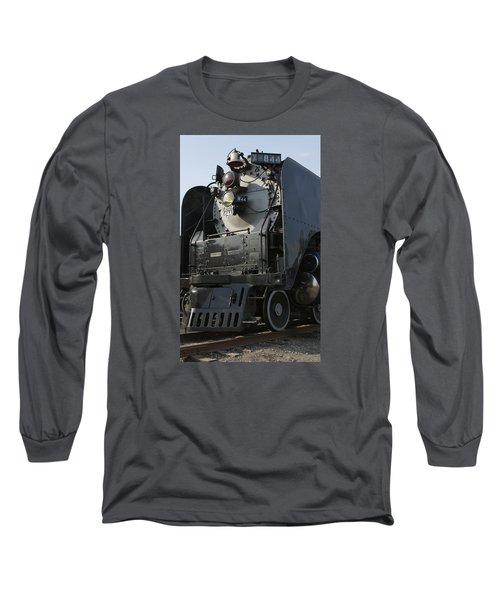 Steam Engine U P 844 Long Sleeve T-Shirt