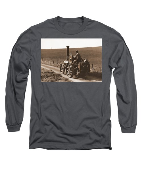 Steam Tractor Long Sleeve T-Shirt