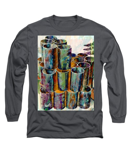 Steel Pipes Long Sleeve T-Shirt