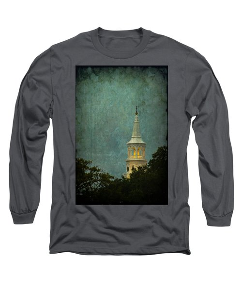 Steeple In A Storm Long Sleeve T-Shirt