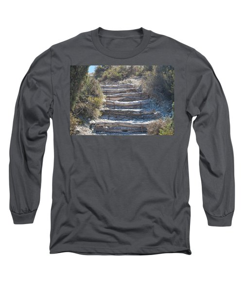 Steps In The Woods Long Sleeve T-Shirt