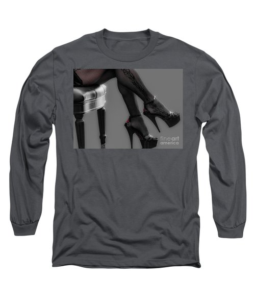 Stilettos Long Sleeve T-Shirt by Bianca Nadeau
