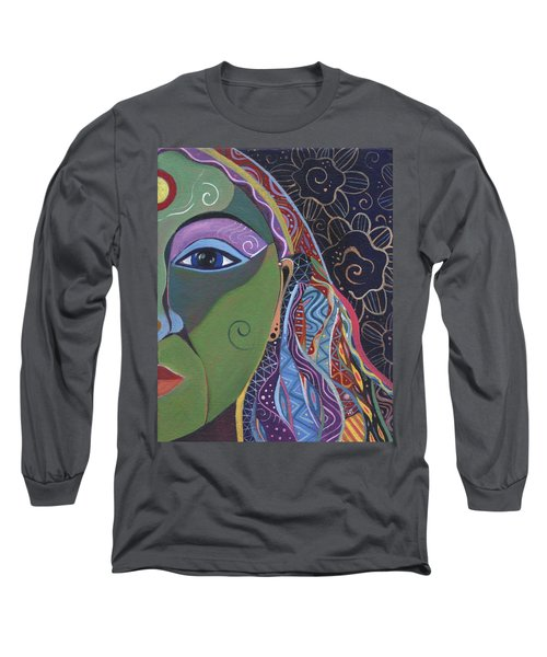 Still A Mystery 5 Long Sleeve T-Shirt by Helena Tiainen