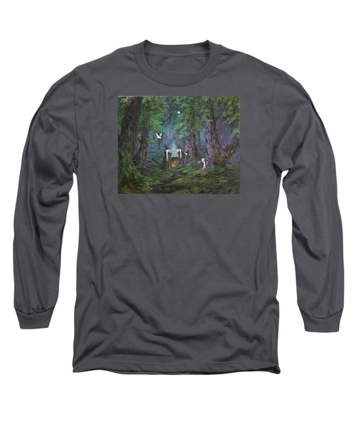 Stirring Up A Potion Long Sleeve T-Shirt