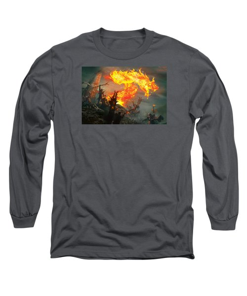 Stoke The Flames Long Sleeve T-Shirt