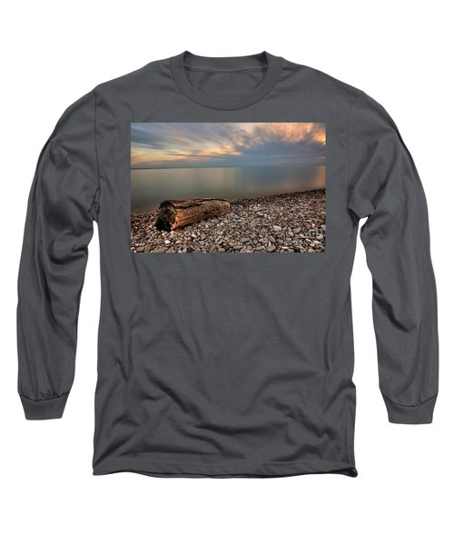 Stone Beach Long Sleeve T-Shirt by James Dean