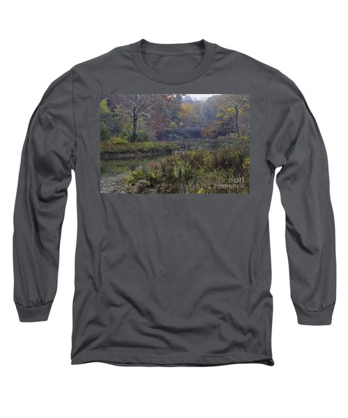 Stone Bridge In Autumn I Long Sleeve T-Shirt
