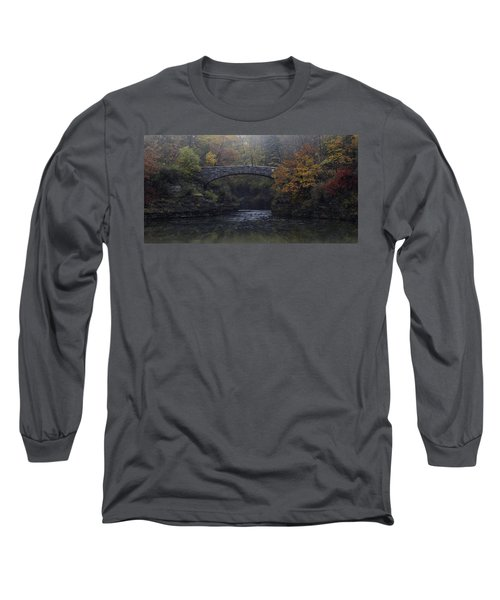 Stone Bridge In Autumn II Long Sleeve T-Shirt