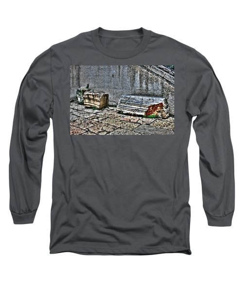Long Sleeve T-Shirt featuring the photograph Holy Rocks In Israel by Doc Braham