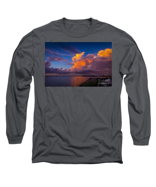 Storm On Tampa Long Sleeve T-Shirt
