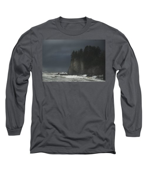 Storm At Lapush Washington State Long Sleeve T-Shirt