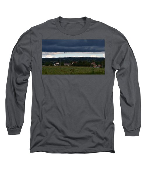 Stormy Countryside Long Sleeve T-Shirt
