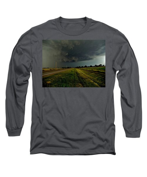 Stormy Road Ahead Long Sleeve T-Shirt
