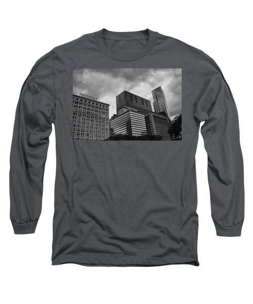Long Sleeve T-Shirt featuring the photograph Stormy Skies by Miguel Winterpacht