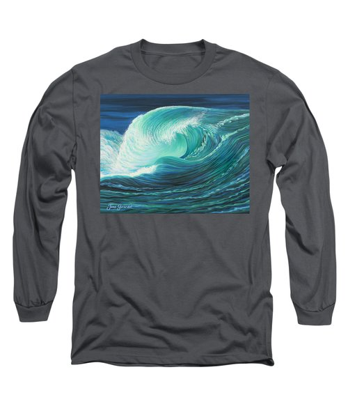 Stormy Wave Long Sleeve T-Shirt