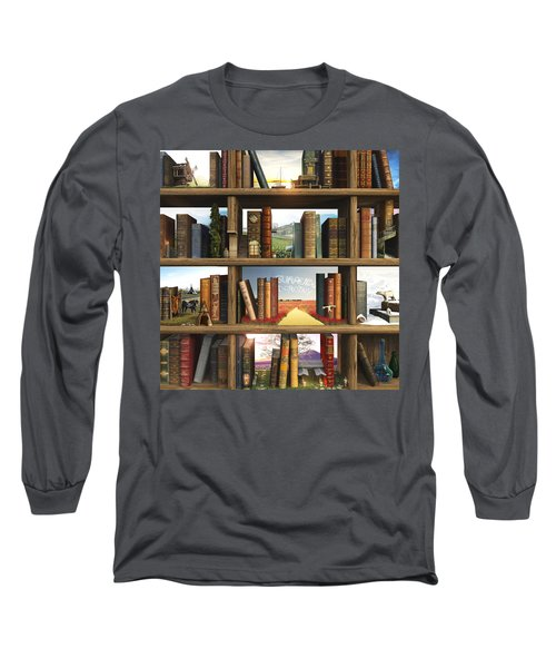 Storyworld Long Sleeve T-Shirt by Cynthia Decker