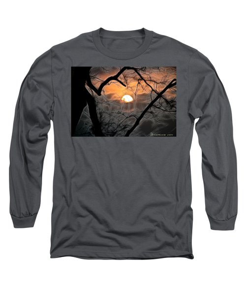 Strange Morning Long Sleeve T-Shirt by EricaMaxine  Price