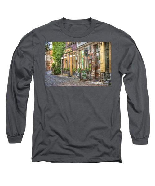 Street In Ghent Long Sleeve T-Shirt