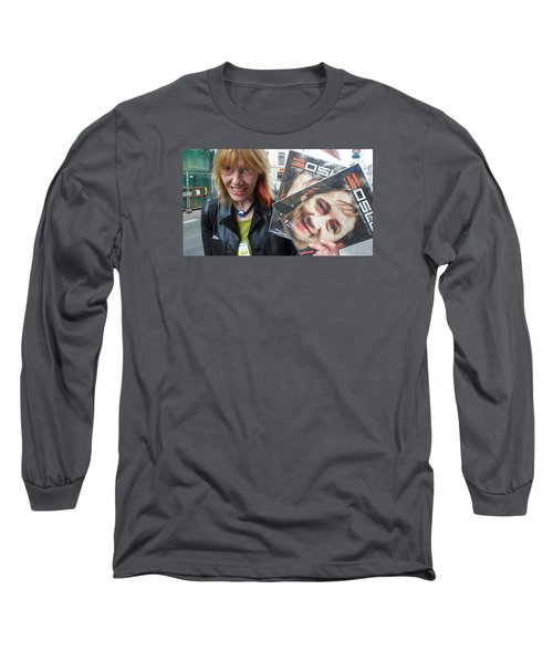 Street People - A Touch Of Humanity 6 Long Sleeve T-Shirt