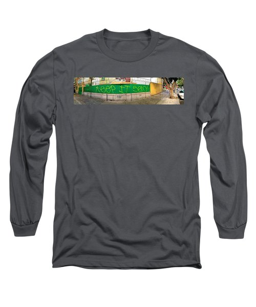 Long Sleeve T-Shirt featuring the photograph Street Scene - Mexico City by Sean Griffin
